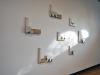 installation with window light